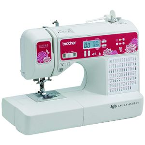 sewing machine with quilting features